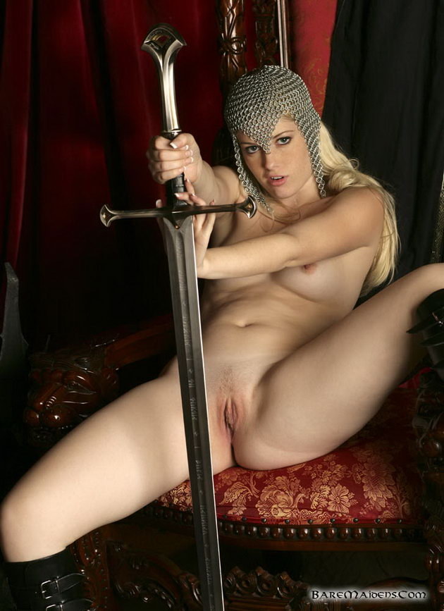 Naked Girls And Swords