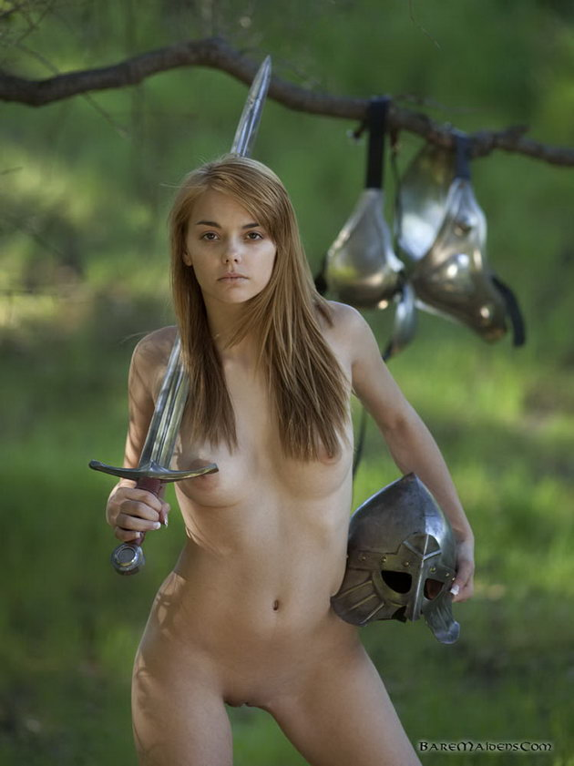 Valuable nude warrior babe sex