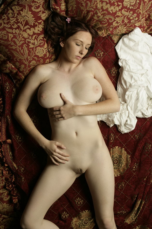 Big naked natural breasts