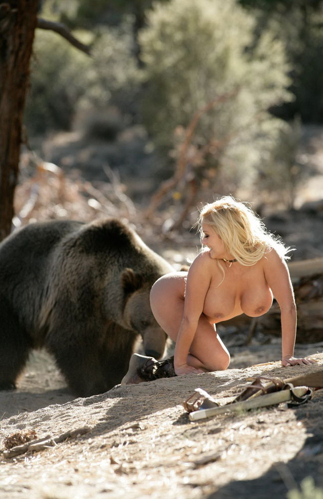 Other variant Bear and naked women found