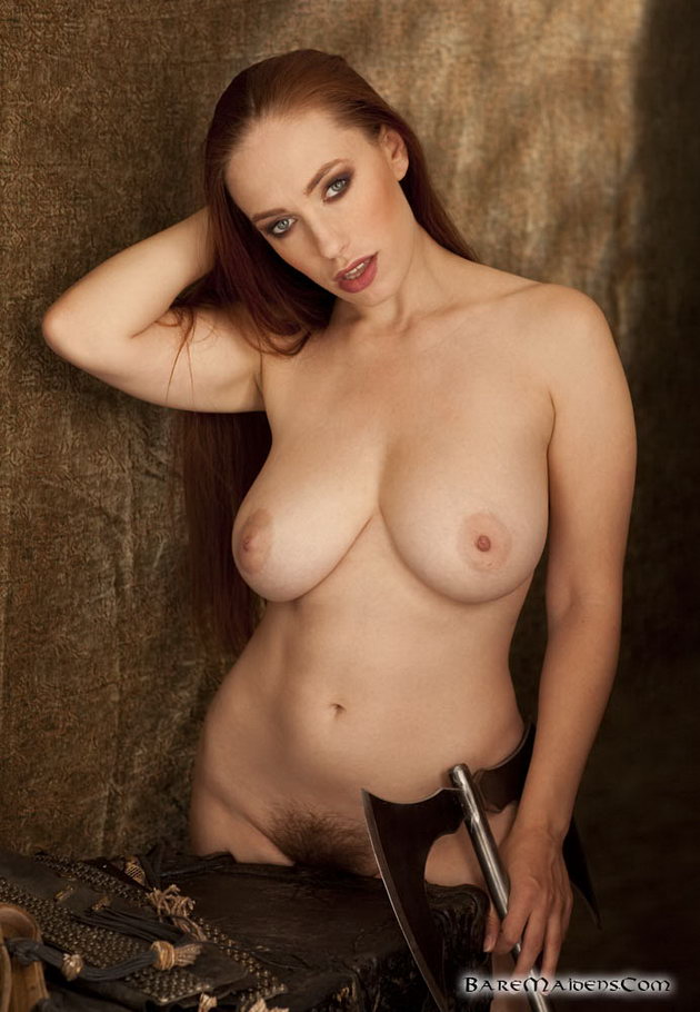 Women with swords nude fantasy