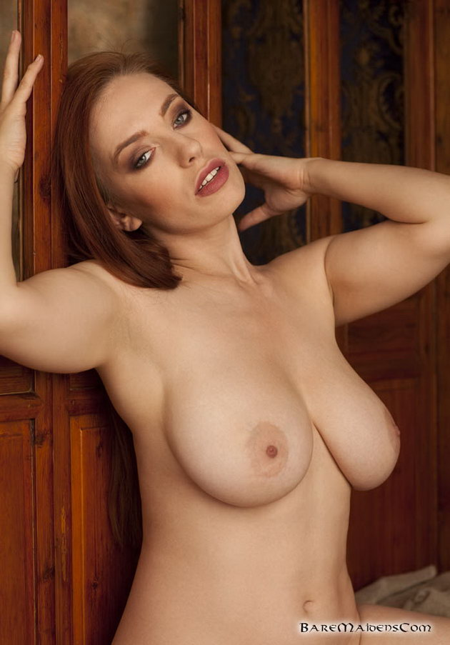Cute redhead big tits nude thank for
