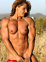 Emery Miller Erotic Muscles in Red