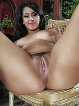 Pussy, Photo Set No. 1314 Sophia Leone unveils her sizeable boobies and spreads her god given cunt