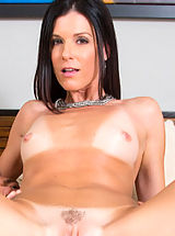 India Summer has hot sex with younger guy and appreciates getting shagged by his big shaft.