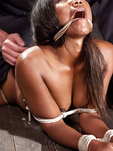 Chanell experiences total melt straight down as her cunt betrays her in firm restraints.