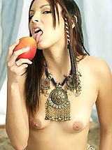 WoW nude dannicole pleasure of fruits