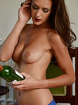 Emma-Kate Dawson 2 Sexy Students in Lingerie Stockings as well as High Heels