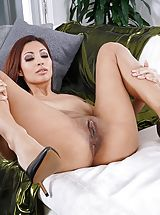 Pussy, Photo Set No. 1348 Jade Jantzen unveils her own sizeable cans and bares her own solid slit