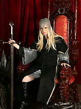 WoW nude charlotte medieval snatch sword