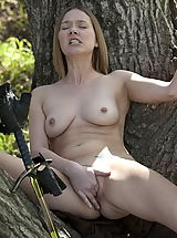 WoW nude star fingering pussy forest