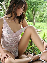 Asian Women vanessa ma 16 forest lingerie