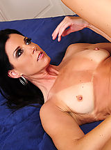 India Summer is horny however the only guy around is a huge cocked husband of her best friend, so she fucks him anyway.