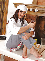 Eve Angel, Sophie Moones Perverse Foot Fetish Kitchen Set