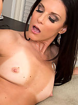 India Summer is a hot sexy cougar who decides to fuck big cock to satisfy her needs.