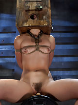 Kristina Rose is caned, meant to endure raw base torture, pushed to the idea of breaking with orgasm denial.