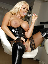 Lucy Zara, MILF Stockings Boots