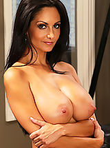 Hot Ava Addams as sexy secretaire