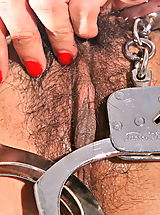 amelia luv 03 handcuffed hairy snatch